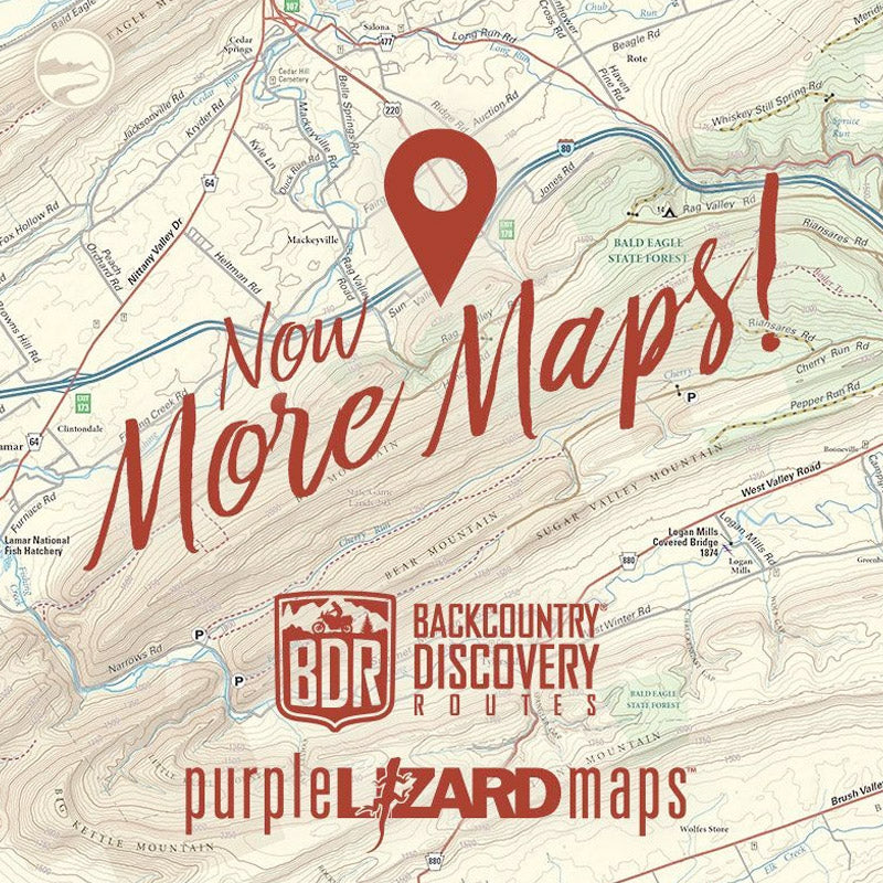 More Maps! including Purple Lizard and BDR maps