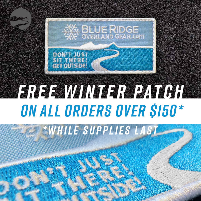 Free Winter Patch on orders over $150