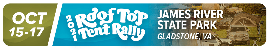 Roof Top Tent Rally 2021
