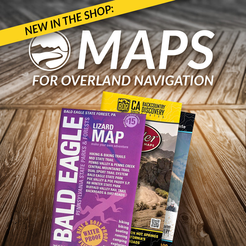 Best map resources for overlanders