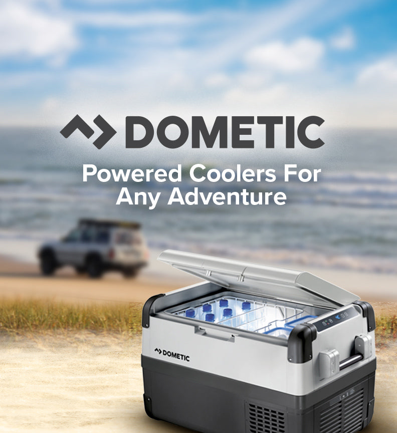 Dometic: powered coolers for any adventure.