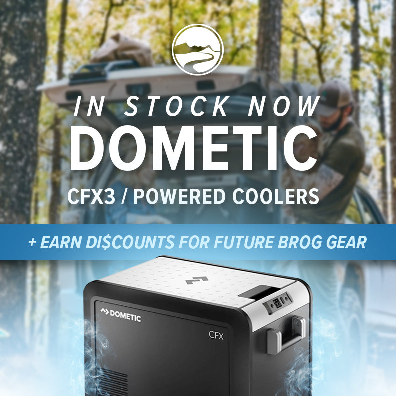 Buy Dometic powered coolers and get discounts on future orders