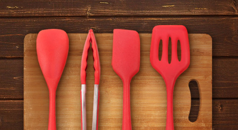 Silicone camp Cooking Utensils