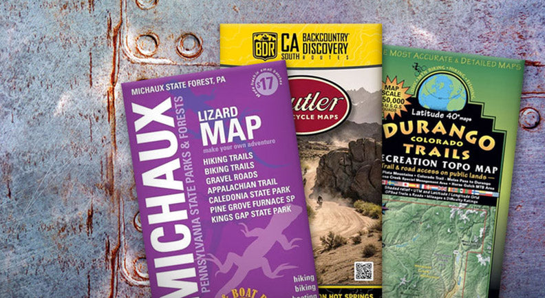 Rugged off-road maps!