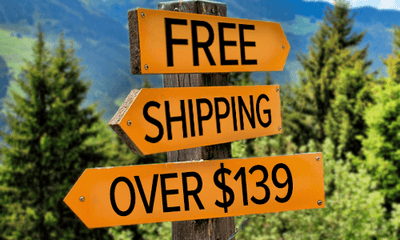 Free Shipping over $139