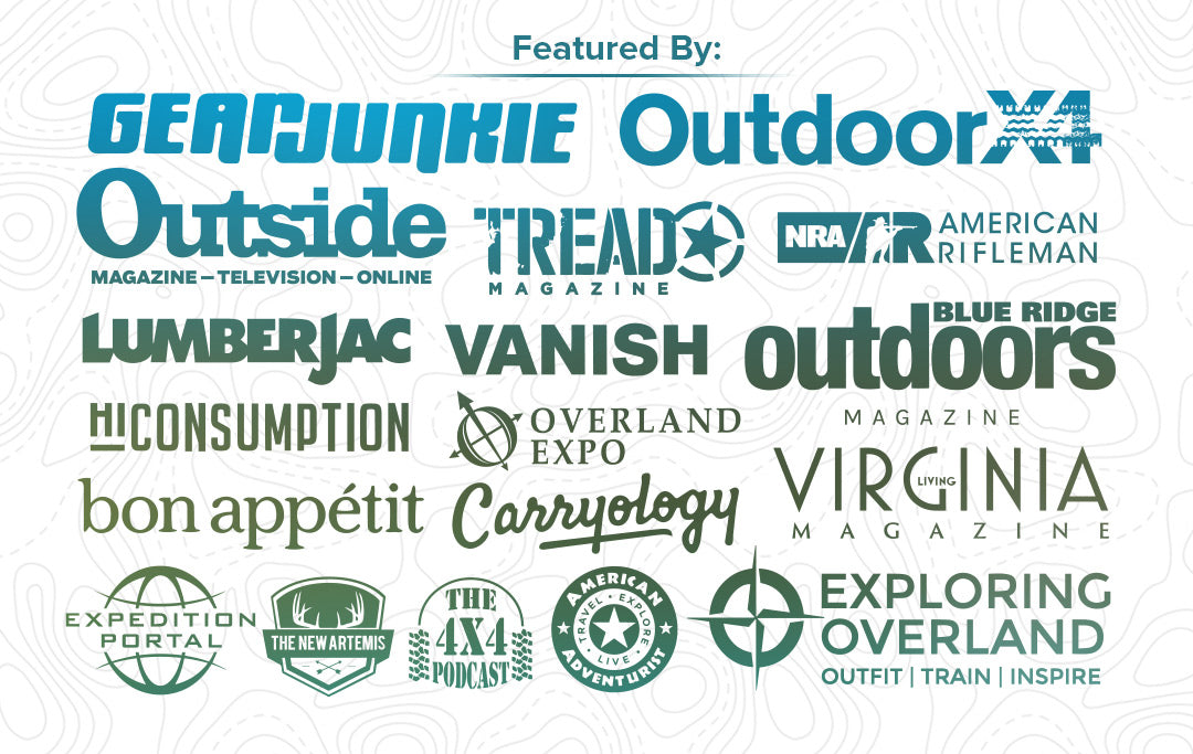 Blue Ridge Overland Gear is mentioned by these media outlets, magazines, websites, and more