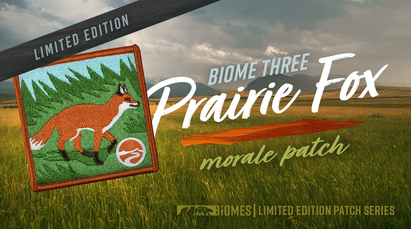 Biome Series: Fox Patch (limited edition)