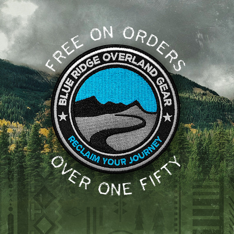 Free BROG logo patch on orders over $150