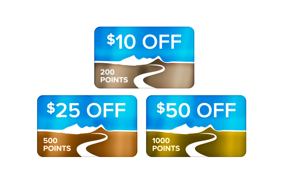 Earn these redeemable exclusive Member discounts with BROG Rewards