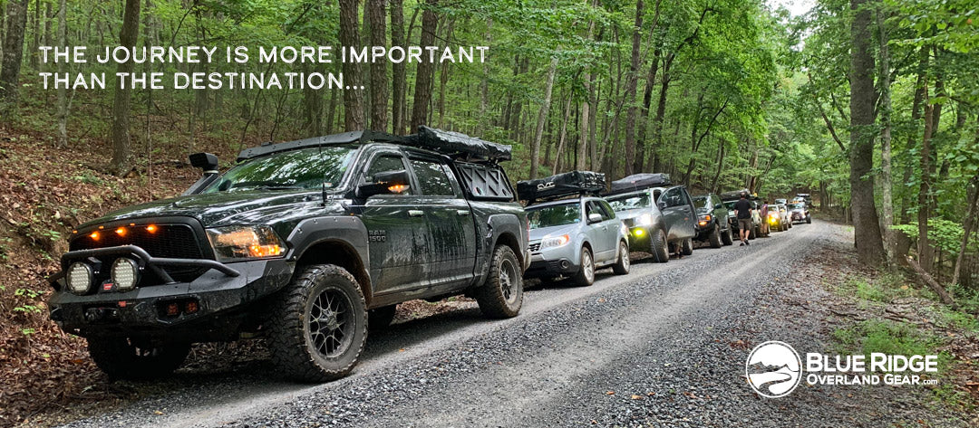 Overlanding: the journey is more important than the destination.
