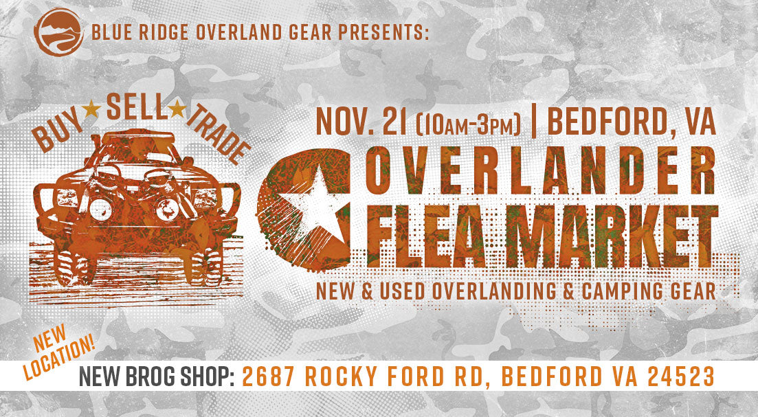 5th annual Overlander Flea Market