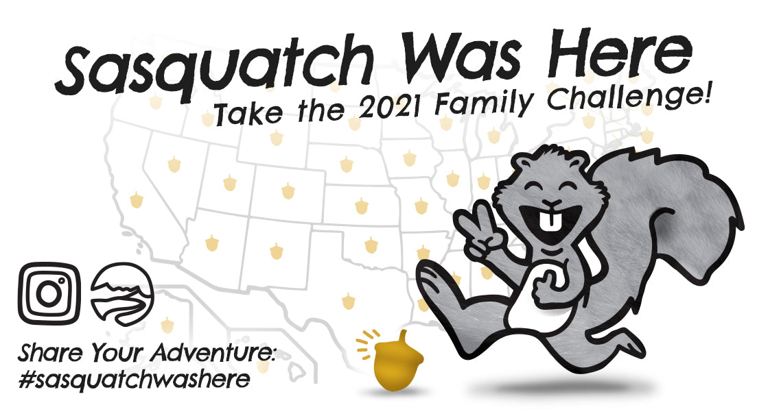 'Sasquatch Was Here' take the family challenge!