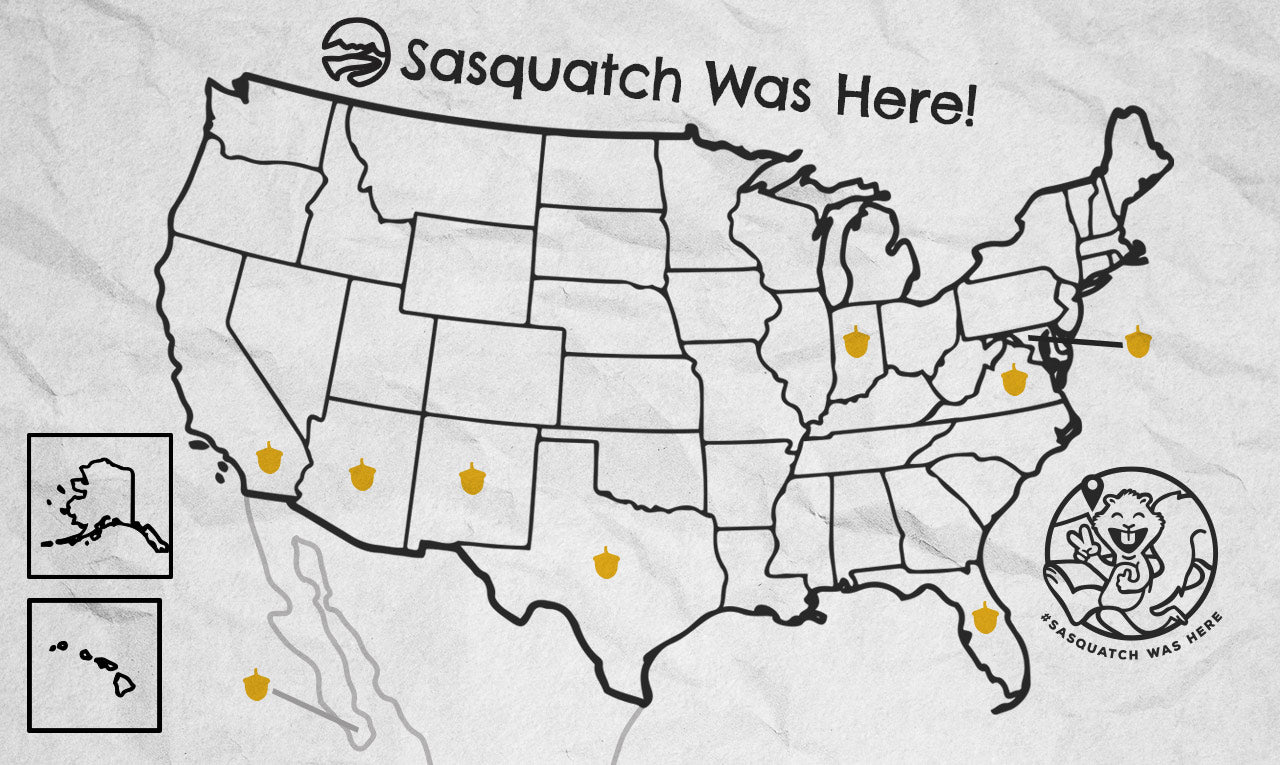 Follow Sasquatch the Squirrel as he overlands the U.S. in 2021
