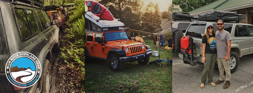 Blue Ridge Overland Gear events