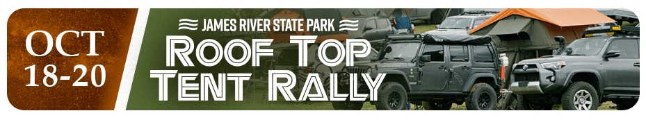 James River Roof Top Tent Rally 2019