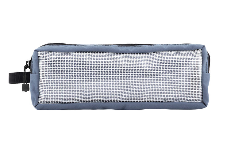 "Utility Pouch Large Grey Front - 12 x 4 x 2""  - Blue Ridge Overland Gear"