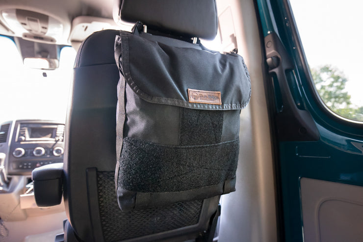 Headrest Storage Bag  - Blue Ridge Overland Gear