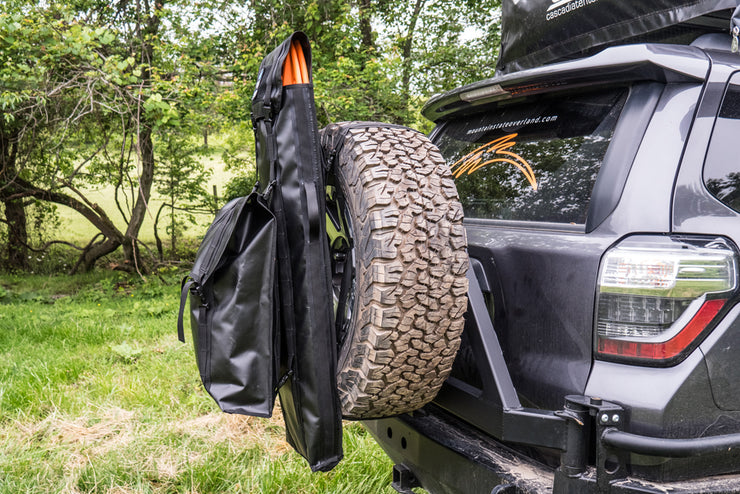 Tire Bag Stacking Kit - 2 Carabiners, 2 Grimlocs