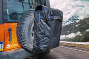 "Tire Storage Bag XL Tire Mount - For 36-37"" tires - Blue Ridge Overland Gear"