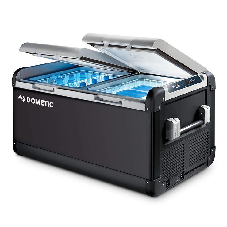 Dometic 70L CFX 75DZW 12v Duel Zone Electric Powered Portable Cooler, Fridge Freezer  - Blue Ridge Overland Gear