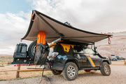 Alu-Cab Shadow Awning Left Hand Side Awning - Blue Ridge Overland Gear