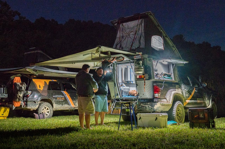 Alu-Cab Shadow Awning  - Blue Ridge Overland Gear