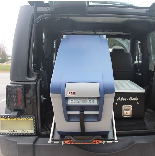 Alu-Cab Tilting Fridge Slide | Small/Medium Fridges  - Blue Ridge Overland Gear