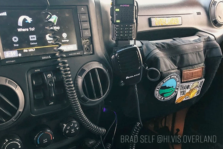 Jeep Grab Handle Pouch  - by Blue Ridge Overland Gear