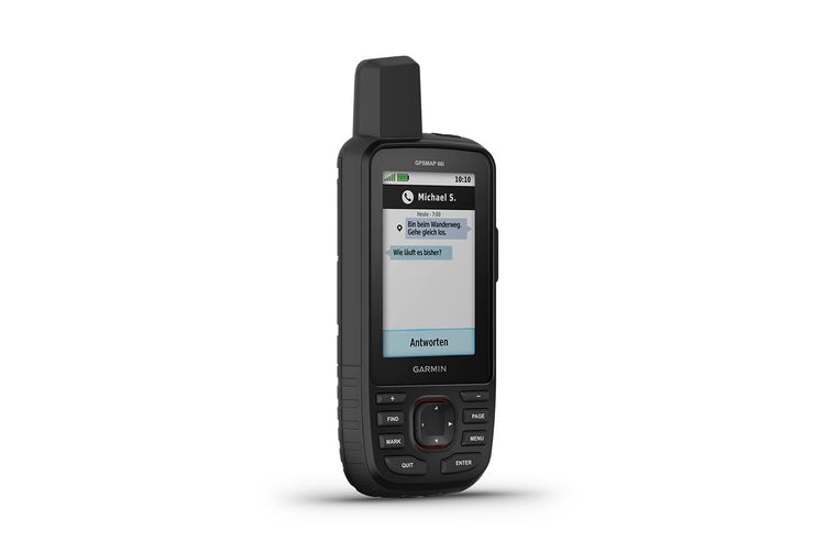 Garmin GPSMAP 66i Handheld Navigator and Satellite Communicator