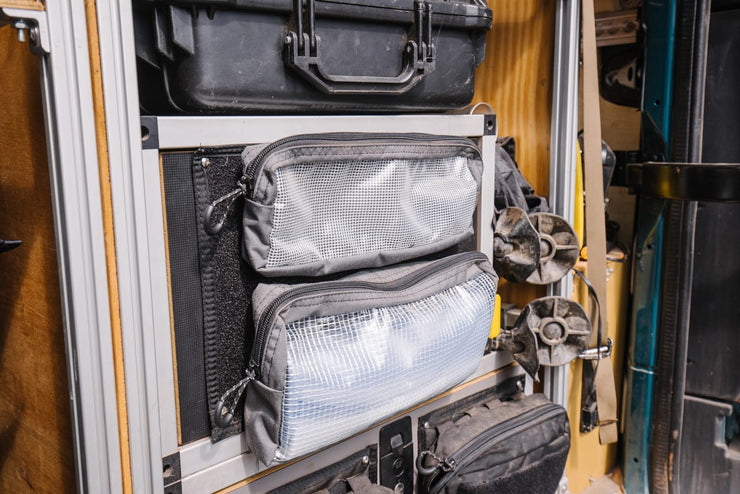 "Pouch Mounting Panel 4x12"" - Mount Pouches Anywhere"