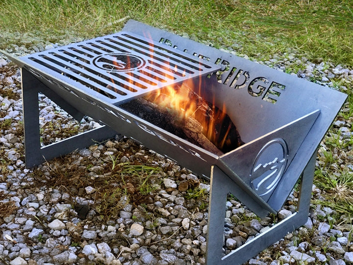Flatpacker Portable Firepit with Bag  - Blue Ridge Overland Gear