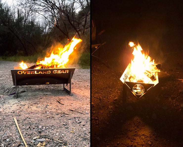 Flatpacker Portable Firepit with Bag
