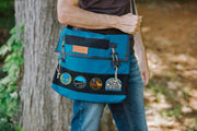 Flat Top Messenger Bag and Trip Planning Bag (Made in the USA)