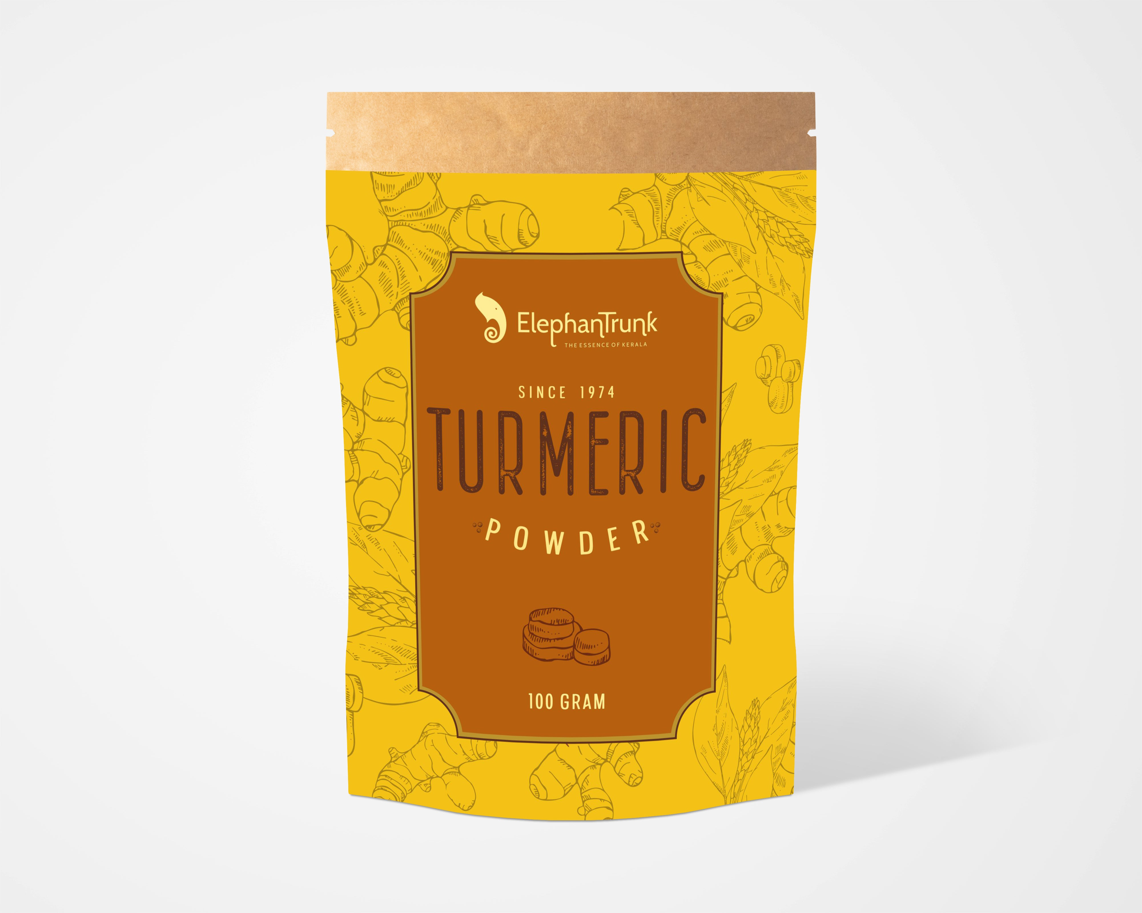 100% Pure and Natural Turmeric Powder
