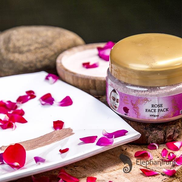 Aromatic Rose Face Pack