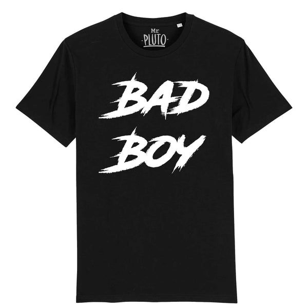 tshirt bad boy noir mr pluto homme