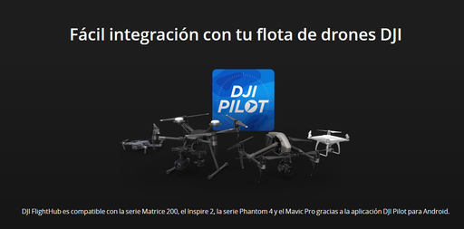 DJI FlightHub Licencia Advanced Anual