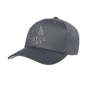 GREY METAL LOGO CAP