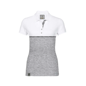 LADIES TWO TONE POLO
