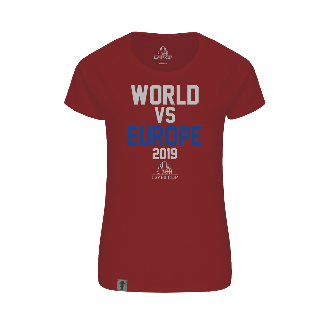 LADIES WORLD VS EUROPE TEE