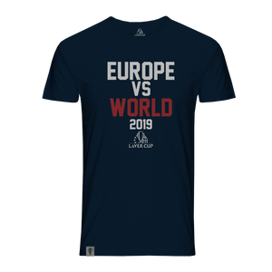 MENS EUROPE VS WORLD TEE