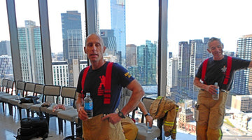 PH8 Water supports the inaugural Melbourne Firefighter Stair Climb