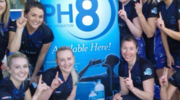 PH8 team up with the Harlequin Netball Club
