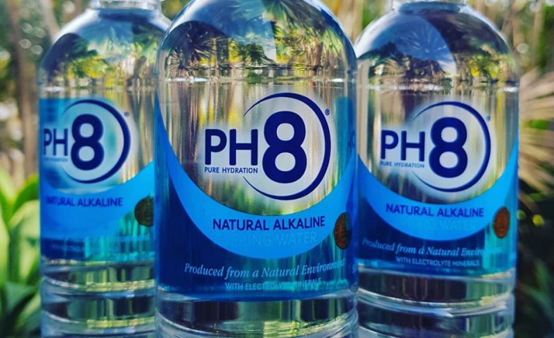 PH8's unique properties and incredibly smooth taste makes it Australia's best alkaline bottled spring waters