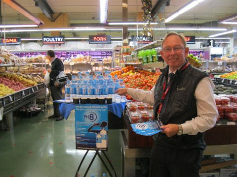 PH8 Alkaline Water Now in Melbourne