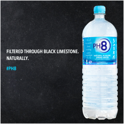 PH8 Natural Alkaline Water South Australia