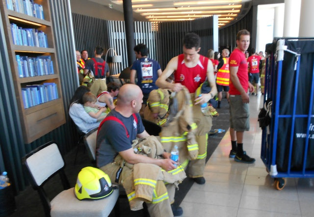 PH8 Water Melbourne Firefighter Stair Climb 2