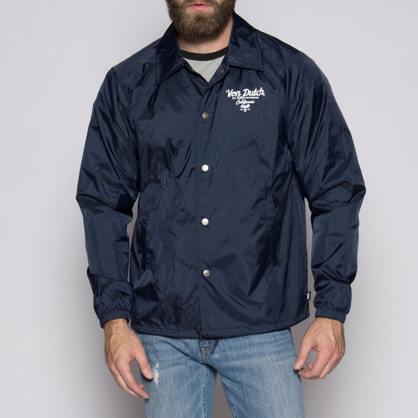 Von Dutch Navy Wind Breaker Front