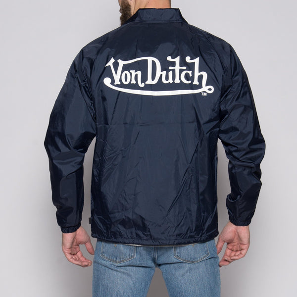 Von Dutch Navy Wind Breaker Back