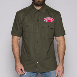 Army Green Mechanic Shirt VDMS04